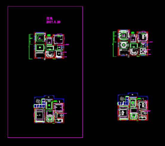 室内设计CAD软件装修图之灯光