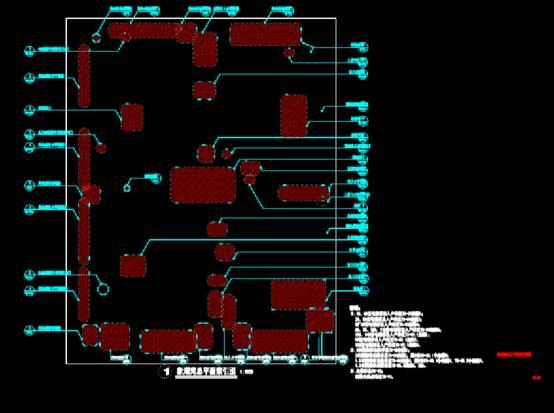 园林景观CAD图纸之索引总平面图