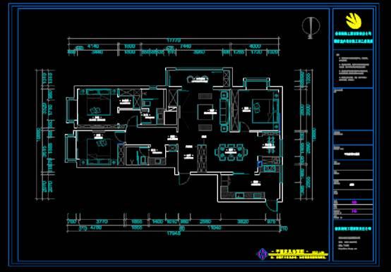 CAD软件设计装饰图纸之家装改造方案