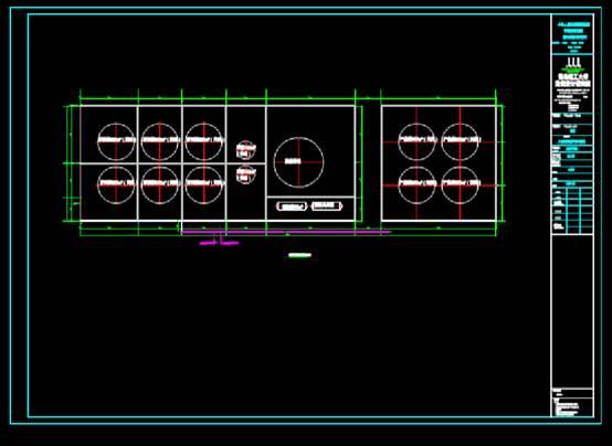 CAD图纸之罐区电气图