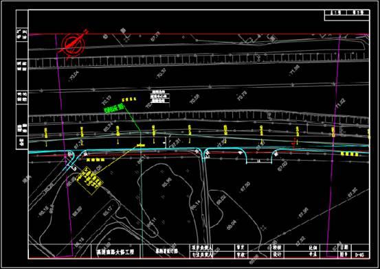 路桥市政CAD看图之道路平面图