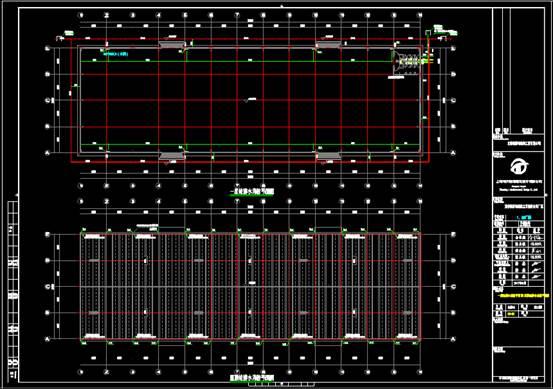 厂房的给排水CAD图纸