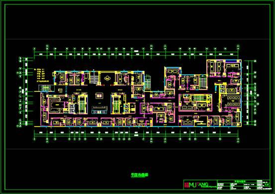 室内设计CAD软件装修图之平面系统图