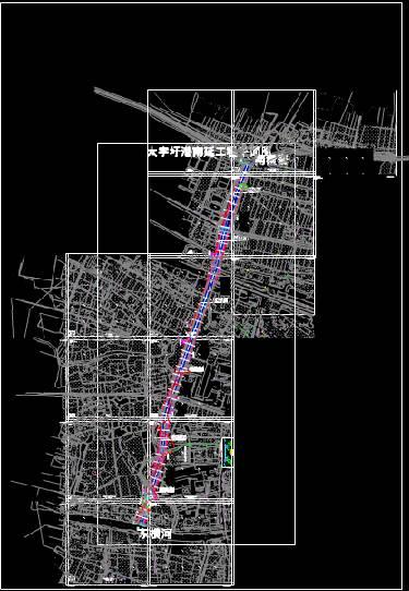 道路设计CAD图纸之总图设计