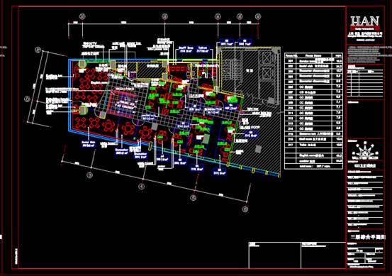 某商场的室内设计CAD软件装修图