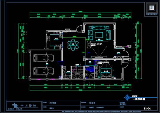 某别墅的室内设计CAD软件装修图