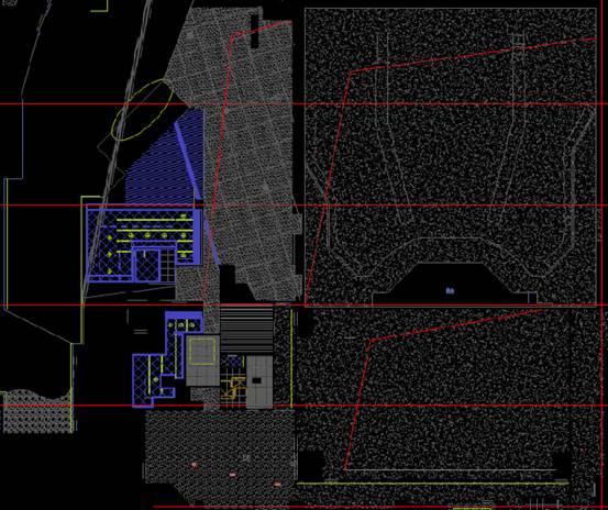 文化建筑CAD设计图纸之舞台设计