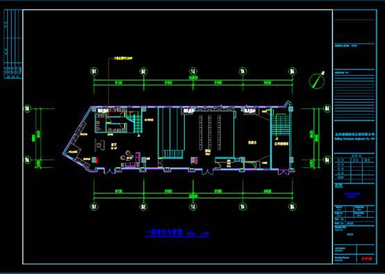 儿童教育剧场文化建筑CAD设计图纸