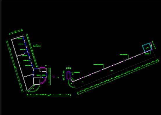 棠湖中学校园文化改造项目文化建筑CAD设计图纸