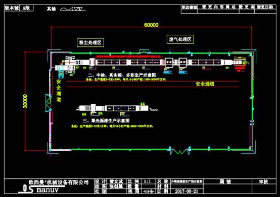 机械CAD软件设计方案之生产线布局图