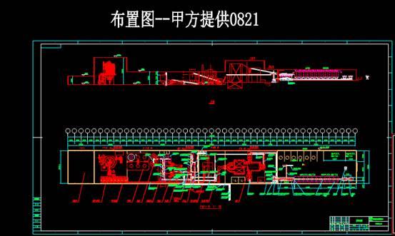 机械CAD软件设计方案之璞晶布置基础图