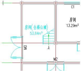 CAD建筑图形中的公摊面积