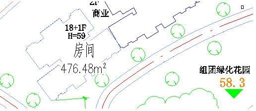 CAD建筑软件中如何查询封闭曲线
