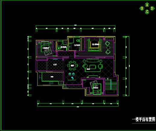 世贸茂悦府CAD室内设计装修图