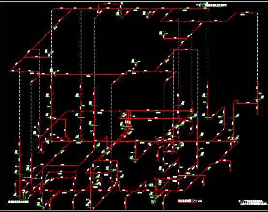 隆尧县展馆给排水CAD图纸