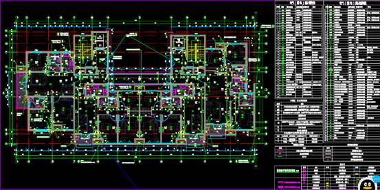 标准层CAD大样图
