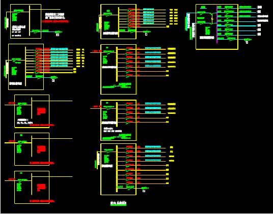 厂房和宿舍电气施工图