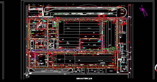工厂给排水管道汇总给排水CAD图纸