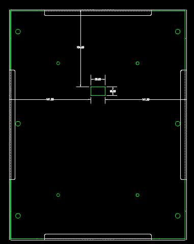 机械零部件图纸下载之罩盖图