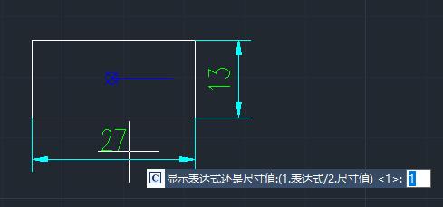 机械CAD制图初学入门之显示尺寸CAD教程