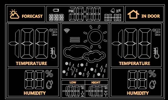 天气钟的机械CAD图纸