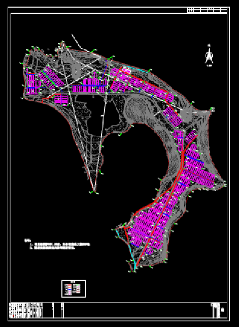 CAD建筑图纸快速查看之蔬菜大棚地形图