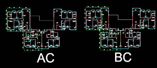 CAD建筑图纸快速查看之居民建筑设计