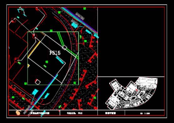 CAD建筑图纸快速查看之商业空间装修