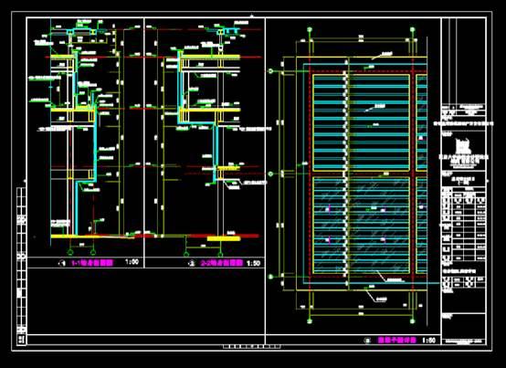 CAD建筑图纸快速查看之售楼处施工图