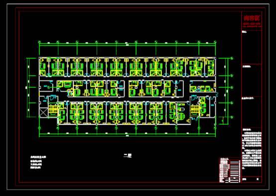 CAD建筑图纸快速查看之宾馆酒店建筑