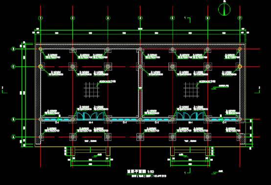 中古古建的建筑设计CAD图纸