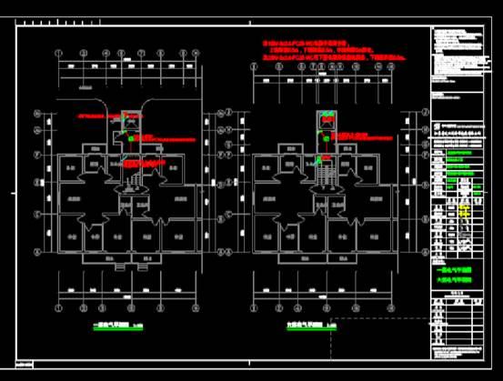 CAD快速查看建筑图之住宅建筑电气