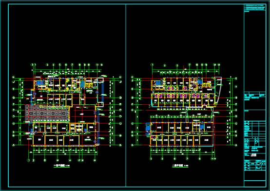 CAD建筑图纸的设计方案