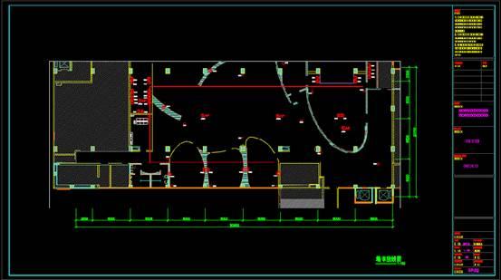 CAD快速查看建筑图纸的过程