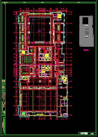某办公楼的CAD建筑工程图