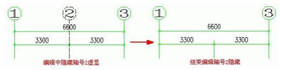 如何使用CAD中的轴号对象编辑功能
