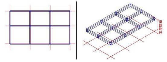 如何使用CAD中的梁板功能