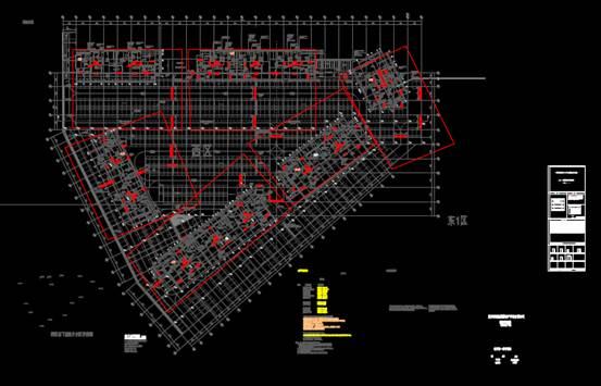 某厂房的CAD建筑工程图