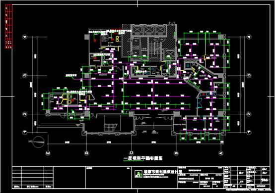 某银行的给排水CAD图纸