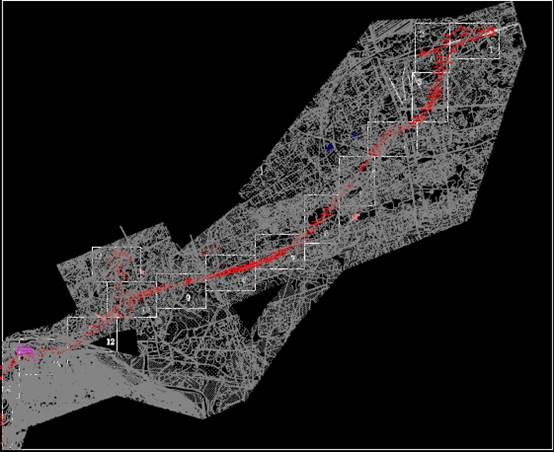 某地区的路桥设计CAD图纸