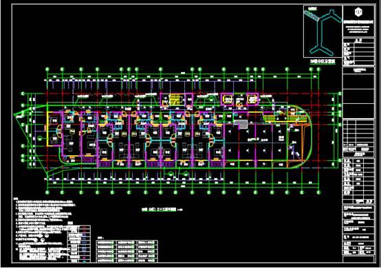 某开发区的CAD建筑工程图