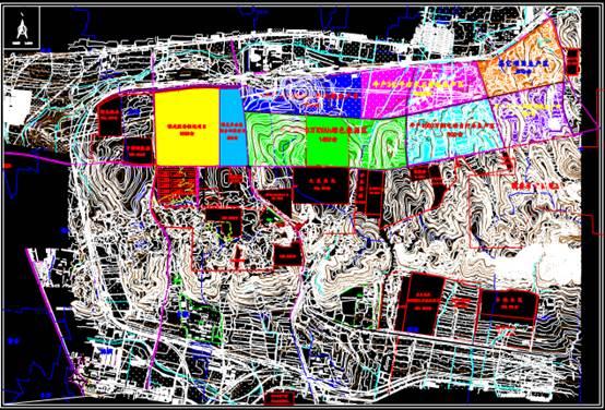 CAD下载图纸中的产业园设计图
