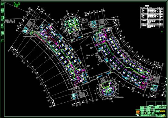 CAD暖通图纸中的空调设计图