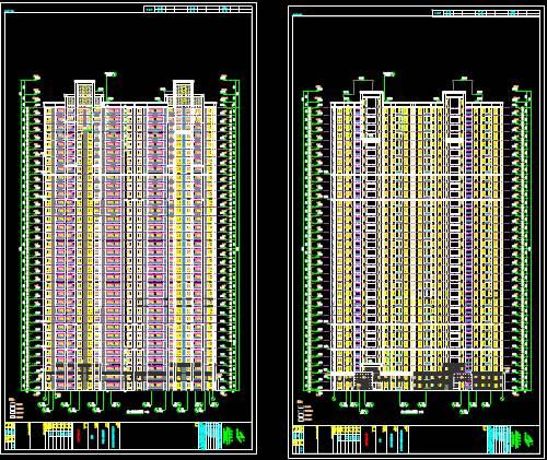 某新建大楼CAD建筑工程图