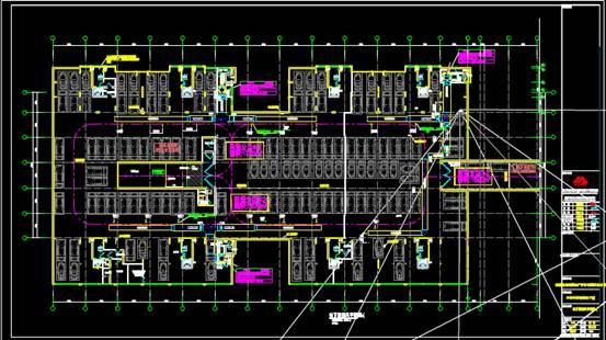某地下室的CAD暖通图纸