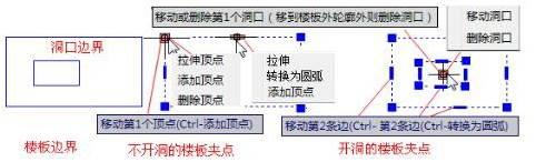 CAD制图初学入门教程中板的夹点功能
