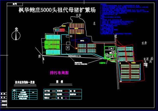 某养殖厂的CAD建筑工程图