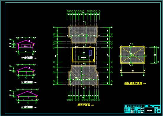 住宅小区2#楼的CAD建筑工程图