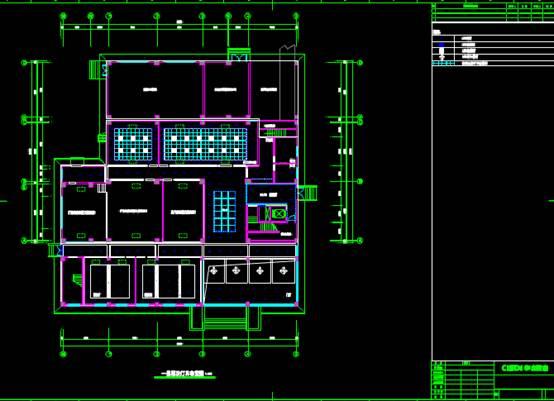 室内设计电气室优化改造项目