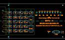 机械设备CAD图纸之金属键盘